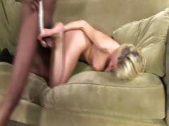 Big tit blonde gives...