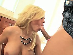 MILF pussy pounded over...