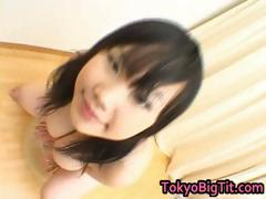 Asian babe has an excellent...