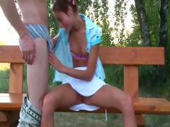 Russian coed couple fucking...