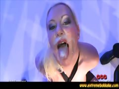 Blonde BBW Amy is wild in...